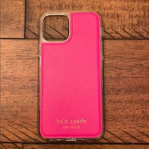 Kate Spade IPhone 11 Pro magnetic wrap folio case